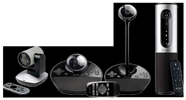 Logitech videoconferência