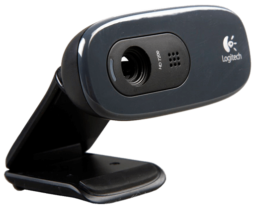 Venda de webcam Logitech C270