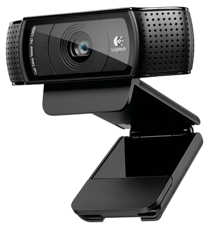 Venda de webcam Logitech C920